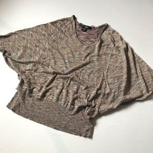 89th & Madison shimmery batwing top in XL